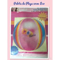 Paquete De 12 Pz Pelotas Playa Barbie Inflable