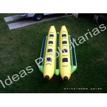 Banana Doble Inflable Para Playa, Envio Incluido.