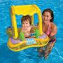 Flotador Bebe Intex Baby Float Amarillo Con Techo