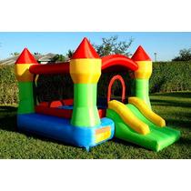 Juego Inflable Castillo Brincolín Jardín Eventos Fiestas