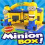Minion Box 3d Garytoys Inflables Modelo 2014 En Super Promo!