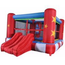 Brinca Brinca Inflable Ring De Boxeo Brincolin Saco Waliki