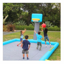 Super Cancha Inflable Basquetbol Basket 6 Mts Wow ! Oferta!!