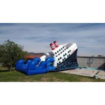 Brincolin Acuatico Titanic Y Toro