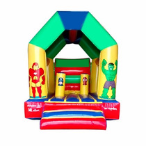 Brincolin Inflable Cabaña Avengers