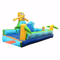 Brincolin Escaladora Bob Esponja 3x6m