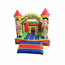 Brincolin Inflable Castillo Chavo O Cualquier Diseño 3x4m