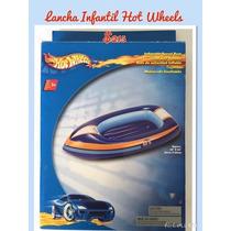 Lancha Infantil Hot Wheels Inflable