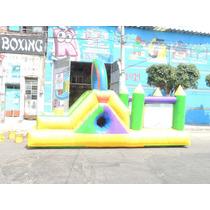 Brincolin Inflable Escaladora Cubo 3x6m