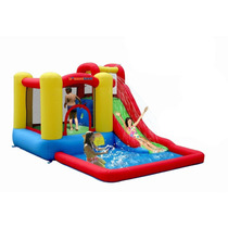 Brincolin Inflable De Agua Splash Tobogan Cascada Piscina