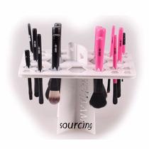 Secador Y Exhibidor De Brochas De Maquillaje Hermoso