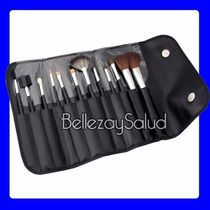 Set De 12 Brochas Para Maquillaje Pinceles Pinturas