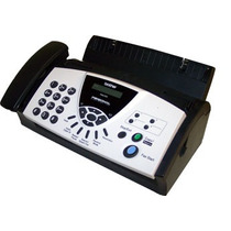 Fax Brother 575-e Papel Bond Telefono Copiadora Fax575e