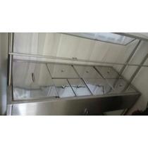 Bufetera Y Estufa De Acero Inoxidable Y Refrigerador