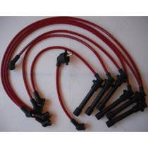 Cables Para Bujías Garlo Race 8.5 Mm, Honda 6 Cil Accord