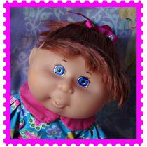 Pelirroja Cabbage Patch Kids Brushing Teeth Baby Mattel