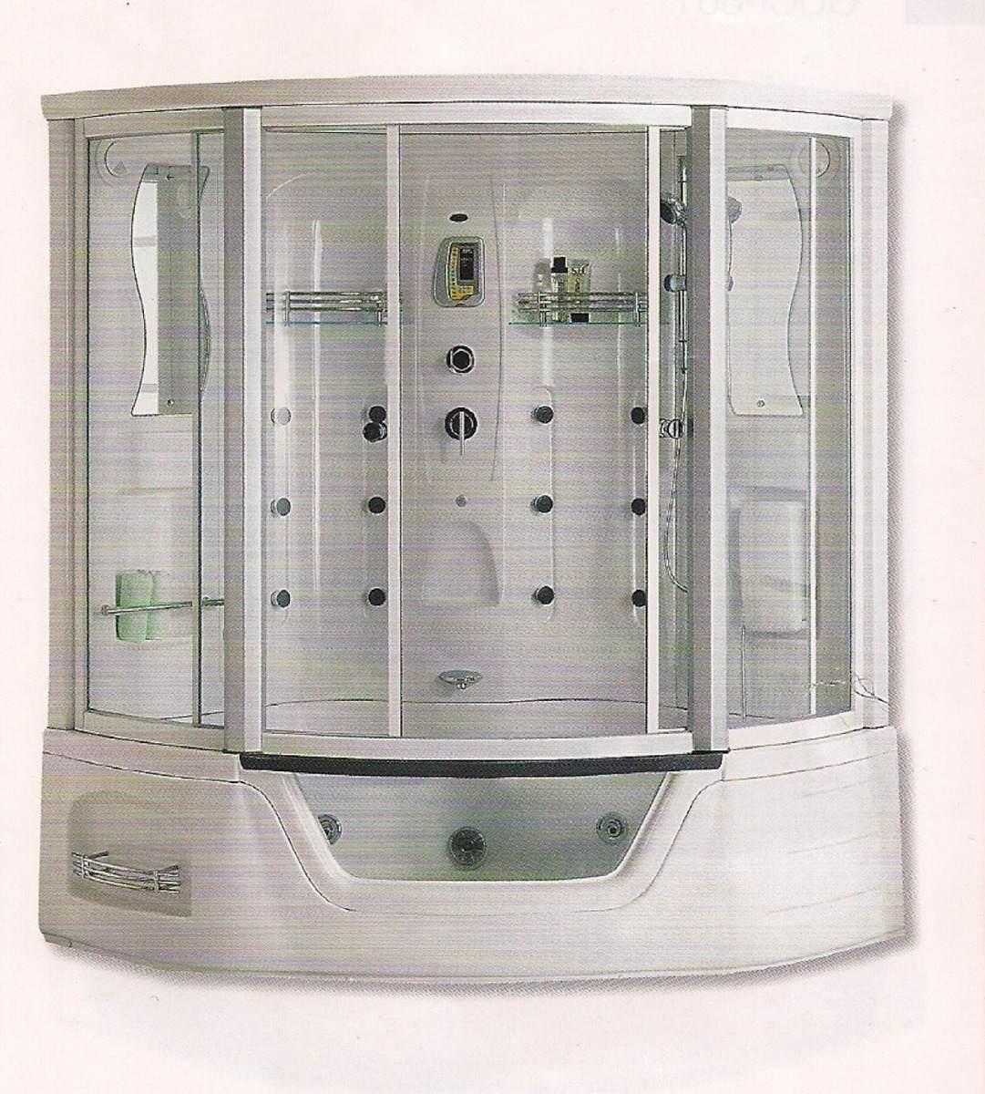 Cabina De Baño Con Tina:Cabina Para Baño Con Tina Cristal Templado Y Cancel Aluminio Pictures
