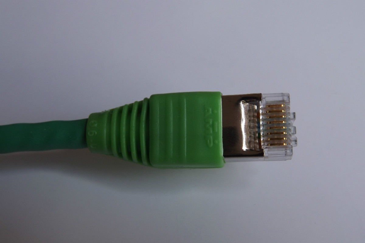 Cable rj45 cat 6 amp tyco para redes ethernet utp for Cable ethernet 20 metros