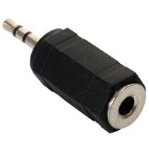 5 Adaptador De Jack 3,5 Mm A Plug 2,5 Mm, Estéreo