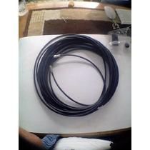 Cable Coaxial, Rg6, Armado Para Tv O Camaras, 20mts.