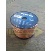 Rollo De Cable Calibre 16g Beeper