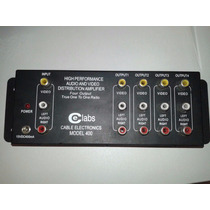 Dj Amplificador Video Rca No Loss Sin Perdida De Senal