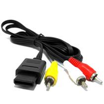Cable Audio Y Video Para Snes, N64, Ngc Contraentrega