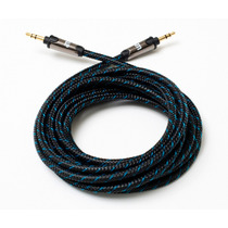Cable Jack De 3.5 Mm Stereo Enchufes Enchapados En Oro 24kt