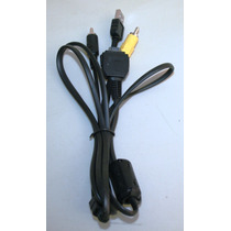 Cable Sony Usb-av Para Camara Sony Dsc: W55, W80, W85, W90,