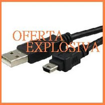 Cable Usb P/camara Digital Video Casio Fuji Sharp Samsung