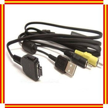 Cable Usb Audio Video Vmc-md1 P/camara Digital Sony Dsc-h3