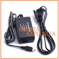 Adaptador Cargador Ac-l10 P/sony Dcr-dvd201 Dvd300 Dvd301