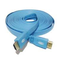 Cable Hdmi Hdmi Version 1.4 Flat 5 Metros Full Hd 1080p Plan