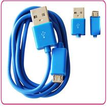 Cable De Transferencia De Datos Usb Macho A V8 Nuevo 1.2 Mt
