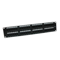 Patch Panel Tvc Ac6u8bbh24 Cat 6 24ptos 19 Pulg Montaje +c+