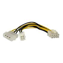Cable Adaptador De Alimentacion 0.15m Eps 4 Pin Y Lp4 A 8 Pi