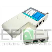 Efi-acccact015 Probador De Cables Para Bnc Usb Rj45 Rj11
