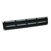 Patch Panel Tvc Ac6u8bbh48 Cat 6 48ptos 19 Pulg Montaje +c+