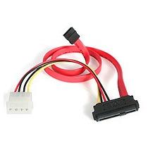 Adaptador Cable 0.45m Divisor Sas A Sata Y Lp4 Alimentacion