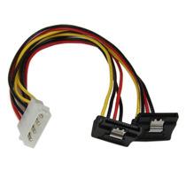 Cable 30cm Adaptador Corriente Divisor Molex A 2x Sata Acoda