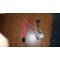 Cable Sata Interno Para Pc Y Convertidor Molex