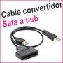 Cable Convertidor De Sata A Usb - Disco Duro Interno Externo