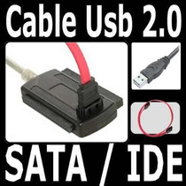 Cable Adaptador Convertidor Usb Sata Ide Disco Duro Cd 2.5