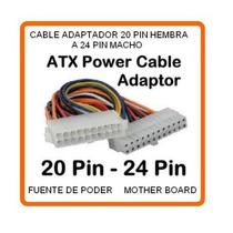 Util Cable Convertidor (fuente De Poder) De 20 A 24 Pin Hm4