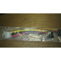 Cable Adaptador Energia 1 Molex A 2 Sata Mmu
