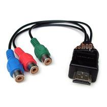 Cable Hdmi A Rca Hembra Video Componente Tv Hd Y Pr Pb 1.5