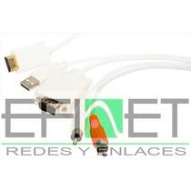 Efi-hdvg2rcausb Cable Convertidor Hdmia Vga+2 Rca+usb 1mt