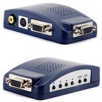 Convertidor De Señal Vga A Rca Y S-video Laptop Pc