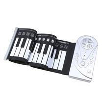 Teclado Midi Flexible Piano De 49 Teclas Audifonos Musica