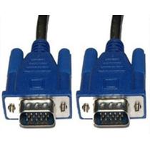 Cable Extension Vga Db15 Vga Macho A Macho Monitor 10 Metros